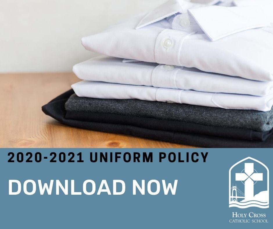 2020-2021 uniform policy