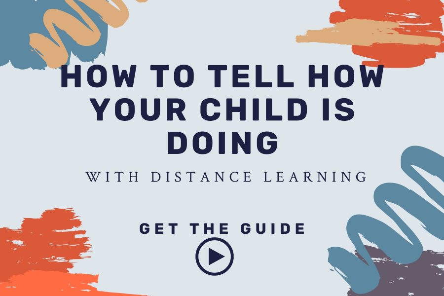 how to tell how your child is doing with distance learning